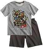 Ninja Turtles Chicos Pijama mangas cortas - Gris - 128