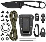 ESEE Black Izula II w/ Survival Kit & Sheath