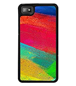 Colourful Abstract Pattern 2D Hard Polycarbonate Designer Back Case Cover for BlackBerry Z10