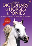 img - for Dictionary of Horses And Ponies: Internet Linked book / textbook / text book