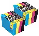 8 Epson compatible Cartouche d'encre pour Stylus S...