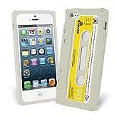 Celicious Grey Retro Cassette Tape Silicone Skin Case for Apple iPhone 5s / iPhone 5 Apple iPhone 5s Case Cover