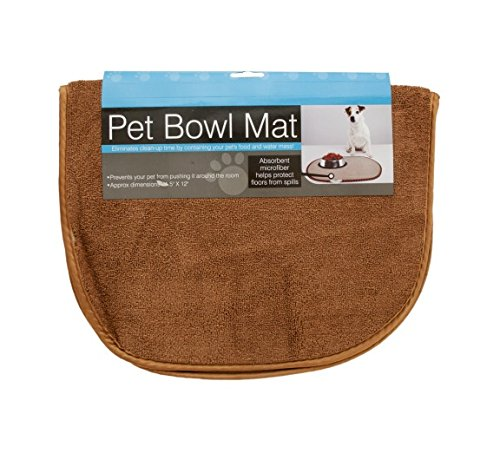 Kole KI-OD431 Large Pet Bowl Mat, Large