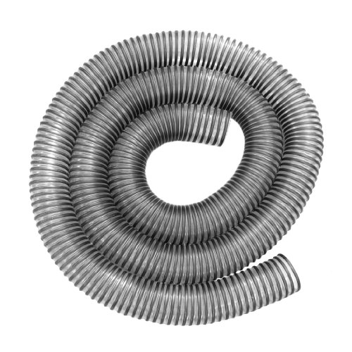 Hi-Tech Duravent 11293 2-1/2-Inch By 10-Feet Clear Pvc Dust Hose With Black Plastic Helix front-618599