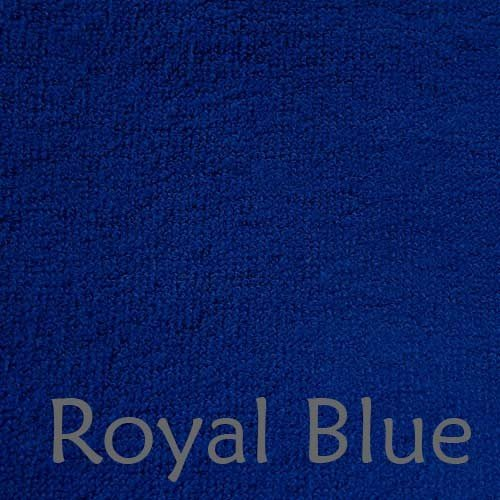 Super Soft Midweight 70% Rayon from Bamboo 30% Organic Cotton Bath Sheet, 535 GSM - 2pc - Royal Blue
