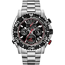 Bulova 98B212 Precisionist Analogue Display Mens Chronograph Watch