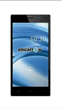 Brigmton BPHONE-550QC-N Smartphone débloqué (5.5 pouces - 8 Go) Noir (import Espagne)