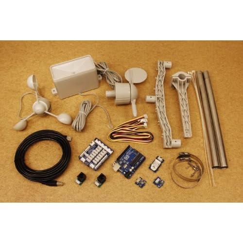 Amazon weather station kit with arduino everything