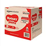 #7: Huggies Wonder Pants Large Size Diapers Monthly Pack (128 Count)