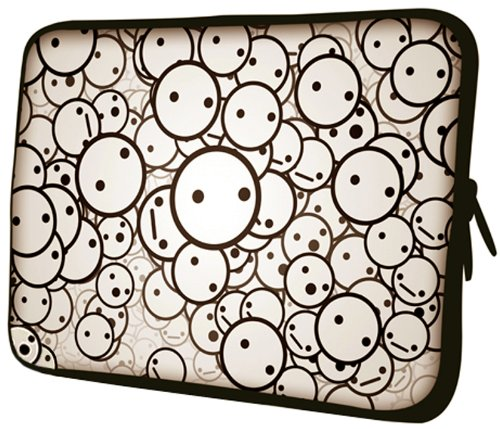 14 inch Bubble Emotions Notebook Laptop Sleeve Bag Carrying Case for most of MacBook, Acer, ASUS, Dell, HP, Lenovo, Sony, Toshiba