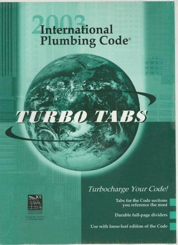 International Plumbing Code 2003: Tabs for Looseleaf Version (International Code Council)