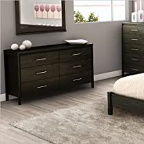 Hot Sale South Shore Gravity Collection Dresser, Ebony