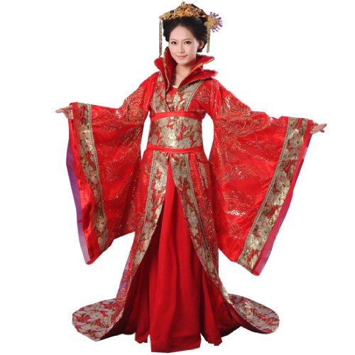 Chinese Costume Women's Trailing Empress Halloween Cosplay