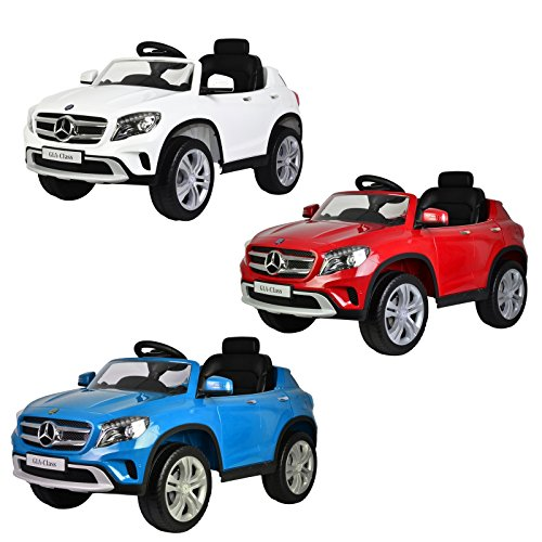 licensed mb mercedes benz gla 12v battery powered kids ride on car 3 colors