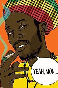 Joseph Charron-Rasta-Yeah Mon, Art Poster Print, 24 by 36-Inch