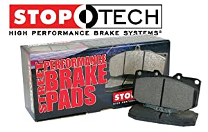 2003-2005 GMC YUKON XL 2500 All 4 Wheel Steering Stoptech Performance Front and Rear Brake Pads