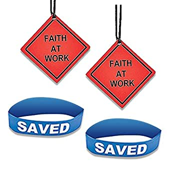 Silicone Bracelets Religious AND GOD Road Sign Necklace COMBO 4 pieces