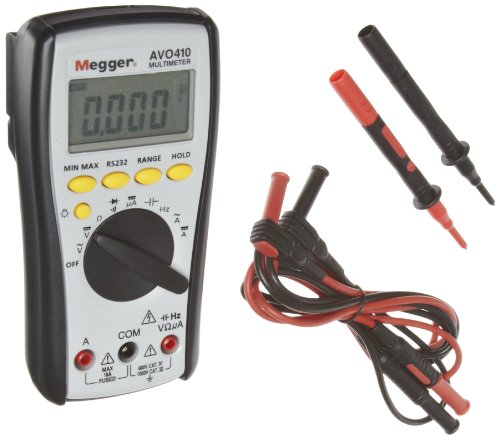 _^) Megger AVO410-US Digital Multimeter 1000V DC 750V AC Voltage ...