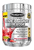 MuscleTech Pro Series Creacore Creatine, Super-Concentrated Creatine Formula,Fruit Punch Fusion, 120 Servings , Net wt 9.14 ounces