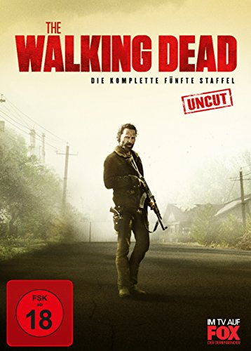 The Walking Dead - Die komplette fünfte Staffel (Uncut, 5 Discs)