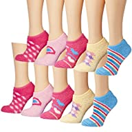 Tipi Toe Women's Colorful Fuzzy Slipe…