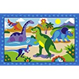Dinosaurland Fun Rug