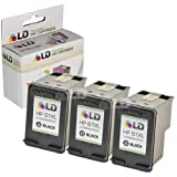 LD © Remanufactured Replacement Ink Cartridges for Hewlett Packard CH563WN (HP 61XL) High-Yield Black (3 Pack) for use in HP Deskjet 1000, 1010, 1050, 1051, 1055, 1056, 1512, 2050, 2510, 2512, 2514, 2540, 2542, 3000, 3050, 3050A, 3051A, 3052A, 3054, 3056A, 3510, 3511, 3512, 3516 & ENVY 4500, 4504, 5530, 5531 & Officejet 4630, 4632 Printers ~ LD Products