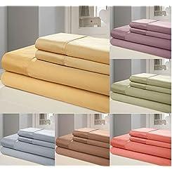 100% Egyptian Cotton 1000 Thread Count Sheet Set
