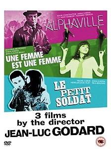 Jean-Luc Godard Box Set - Alphaville/Le Petit Soldat/Une Femme Est Une Femme [DVD]