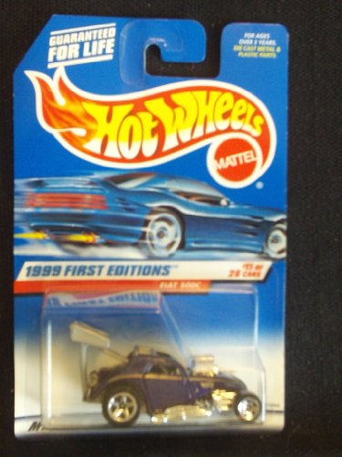 Hot Wheels 1999 First Editions 11/26 Fiat 500C - 1