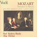 Mozart Sonatas & Pieces for 1 & 2 Pianos, 4 Hands