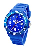 Ice Watch - Sibeus09 - Montre Mixte - Quartz Analogique - Cadran Bleu - Bracelet Silicone Bleu - Moyen Modle from Ice Watch