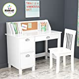 "35.75"" W Writing Desk Finish: White"