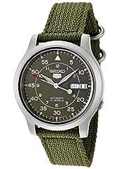 [セイコーインポート]SEIKO import 腕時計 海外モデル メッシュベルト 自動巻 カーキ SNK805K2 メンズ [逆輸入品]