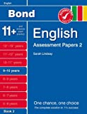 New Bond Assessment Papers English 9-10 Years Book 2 Sarah Lindsay