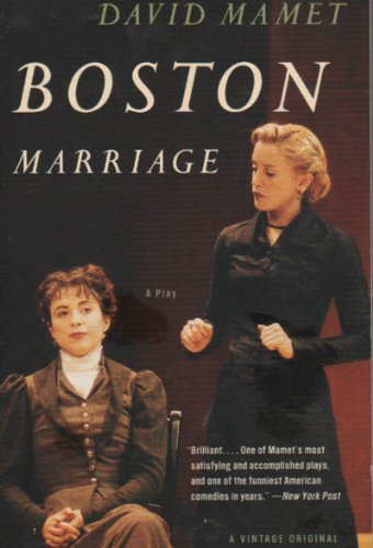 Boston Marriage - Acting Edition