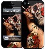 GelaSkins iPh5-Viva GelaSkins for iPhone 5 - 1 Pack - Retail Packaging - Viva La Muerte