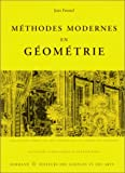 img - for Methodes modernes en geometrie (Actualites scientifiques et industrielles) (French Edition) book / textbook / text book