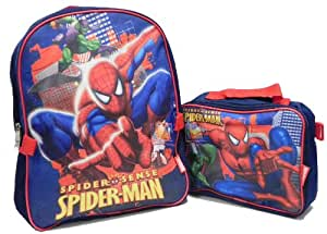 Spiderman Backpack and Lunch kit set 50474