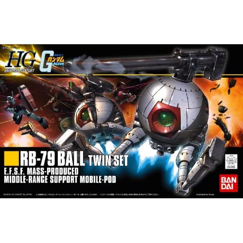 HGUC 1/144 RB-79 ボール ツインセット (機動戦士ガンダム)