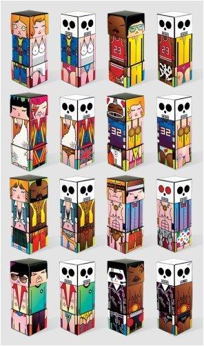 SUPER-BASTARD Box Art Characters (Full set) - 1