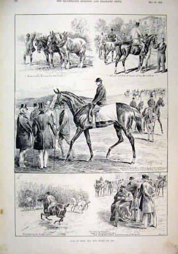 Derby di Orano dell'Atleta di 1896 Cavalli che Ara l'Atleta di Blair Athol