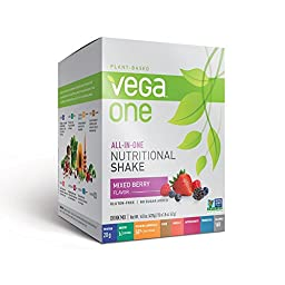 Vega All-in-One Nutritional Shake, Berry, 10 Count