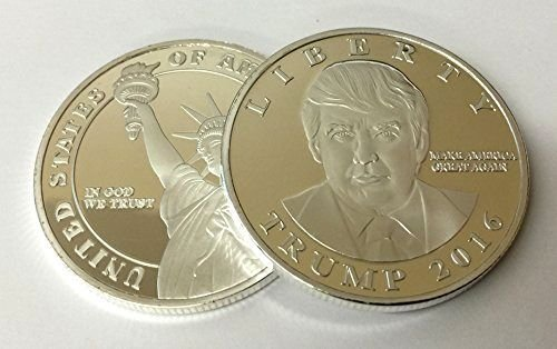 [Donald Trump 2016 Presidential Liberty Novelty Coin] (Bellboy Costumes)