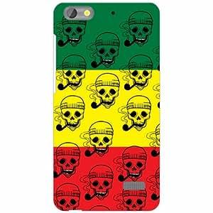 Honor 4C Back cover - Skull Designer Cases