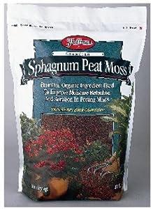 Hoffman 15503 Canadian Sphagnum Peat Moss, 10 Quarts