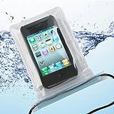 お風呂もOK! iPhone &スマートフォン 防水ポーチ 透明 日本製