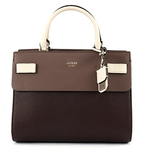 Guess Tasche - Cate - Satchel - Brown Multi thumbnail