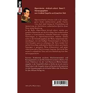 Der Freischütz: Text von Friedrich Kind, Musik von Carl Maria von Weber. Opernlibretti kritisch edi