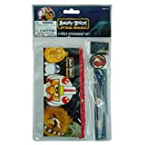 Angry Birds Star Wars 4pc Stationery Set In PVC Bag W/header